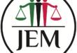 """حركة العدل والمساواة السودانية  أمانة الشئون السياسية """"تعميم صحفى"""""""